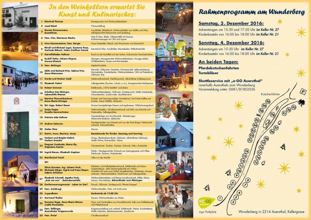 Advent am Wunderberg 2016